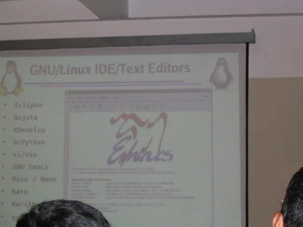 Text editors slide