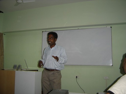 Thyagarajan, Free Software Day discussion