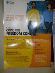 Code for Freedom contest, Sun Microsystems