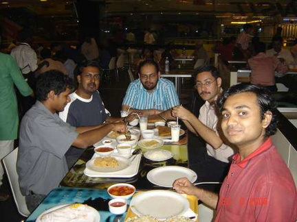Dinner at the Forum, Bangalore