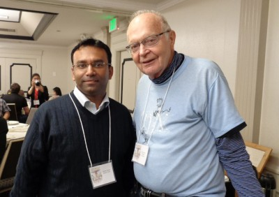 With Prof. Donald Knuth