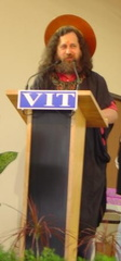 RMS, Speech at Vellore Institute of Technology, India